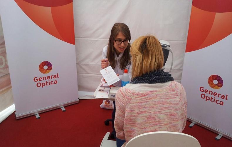 388a7dab75 General Óptica se instala en el campus universitario de Vigo para realizar  una campaña de Salud Visual