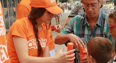 Cedevita caso street marketing asmalljob