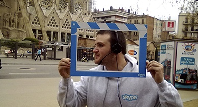 Skype - Mobile World Congress