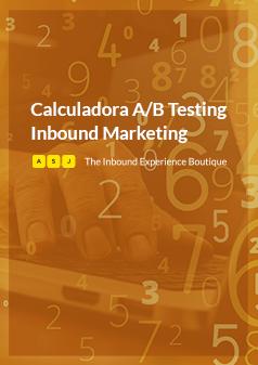 Calculadora A/B Testing Inbound Marketing, Planifica tu presupuesto